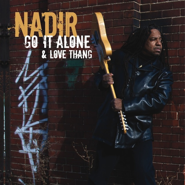 Nadir - Go It Alone & Love Thang artwork - Buy the single Now on vinyl & digital from Distorted Soul Detroit