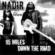 Nadir - 95 Miles Down The Road (featuring Mayaeni) b/w Belly of the Whale (7-inch vinyl + digital)