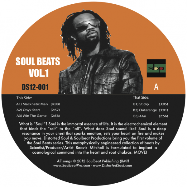 Reavis Mitchell - Soul Beats Vol. 1 (12-inch vinyl, CD & digital)